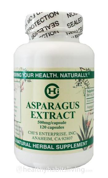 Asparagus Extract - 120 capsules