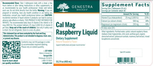 Cal Mag Raspberry Liquid - 15.2oz Default Category Genestra