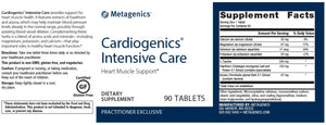 Cardiogenics Intensive Care - 90 Tablets Default Category Metagenics