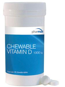 Chewable Vitamin D - 90 Tablets