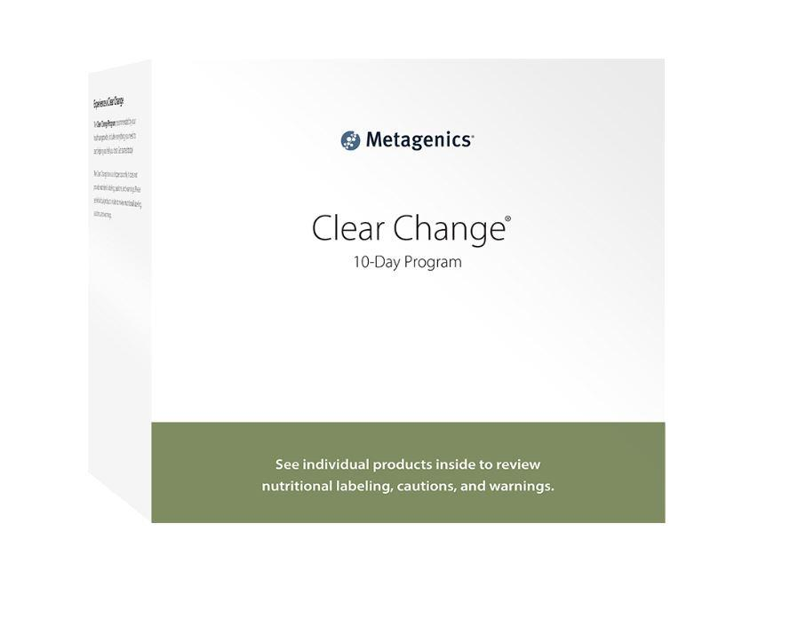 Clear Change Program with UltraClear Plus