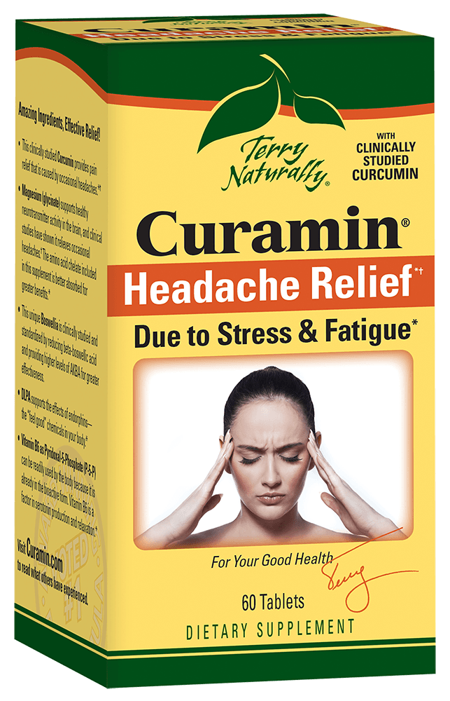 Curamin® Headache Relief - 60 Tablets
