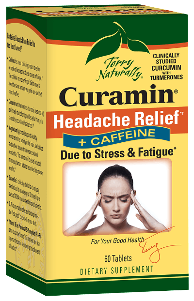 Curamin® Headache Relief + Caffeine - 60 Tablets