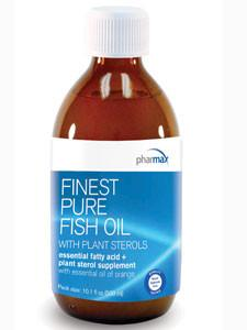 Finest Pure Fish Oil with Plant Sterols - 10.1 fl oz