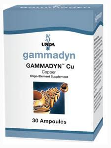 Gammadyn Cu (Copper) - 30 Ampoules Default Category Unda