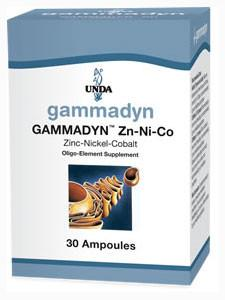Gammadyn Zn-Ni-Co - 30 Ampoules Default Category Unda
