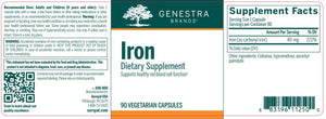 Iron - 90 Capsules Default Category Genestra