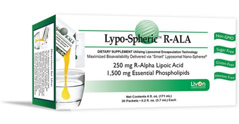 Lypo-Spheric R-ALA - 1 Box / 30 packets