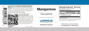 Manganese - 60 Capsules Default Category Douglas Labs