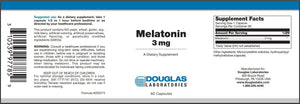 Melatonin - 60 Capsules Default Category Douglas Labs