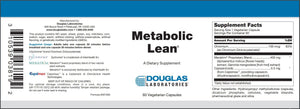 Metabolic Lean ™ - 60 Capsules Default Category Douglas Labs