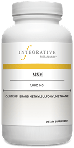 MSM - 180 Tablets Default Category Integrative Therapeutics
