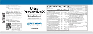 Ultra Preventive® X Tablets Default Category Douglas Labs