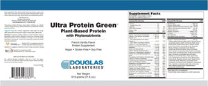 Ultra Protein Green - 619 Grams Default Category Douglas Labs