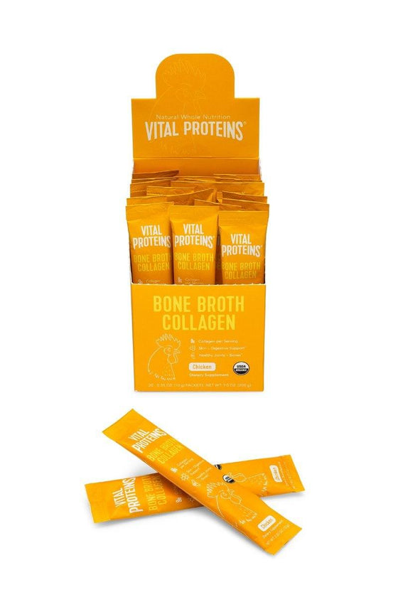 Organic, Free Range Chicken Bone Broth - 20 Stick Pack