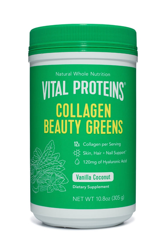 Collagen Beauty Greens Vanilla Coconut- 10.8 oz.