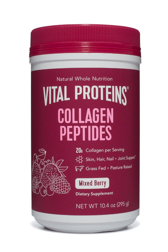Mixed Berry Collagen Peptides - 10.4 oz.