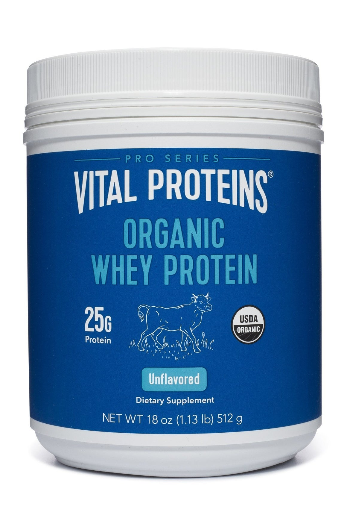 Organic Pasture Raised Whey - 18 oz