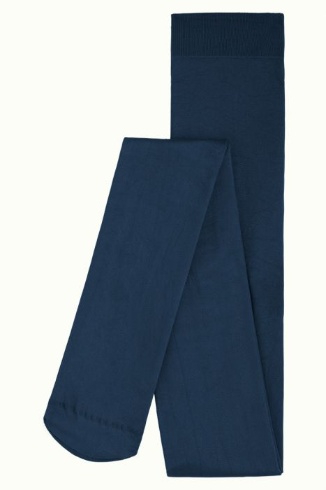 Tights Solid Tokyo Blue 120 denier fra King Louie
