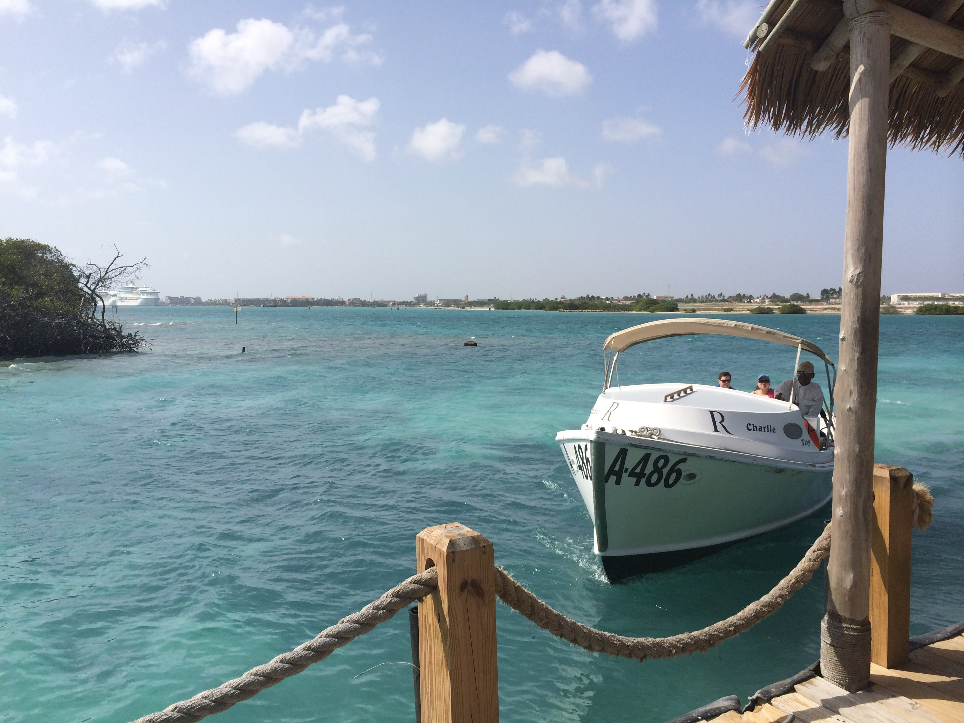 Private Island Renaissance Boat Aruba by Karma for a Cure Blog