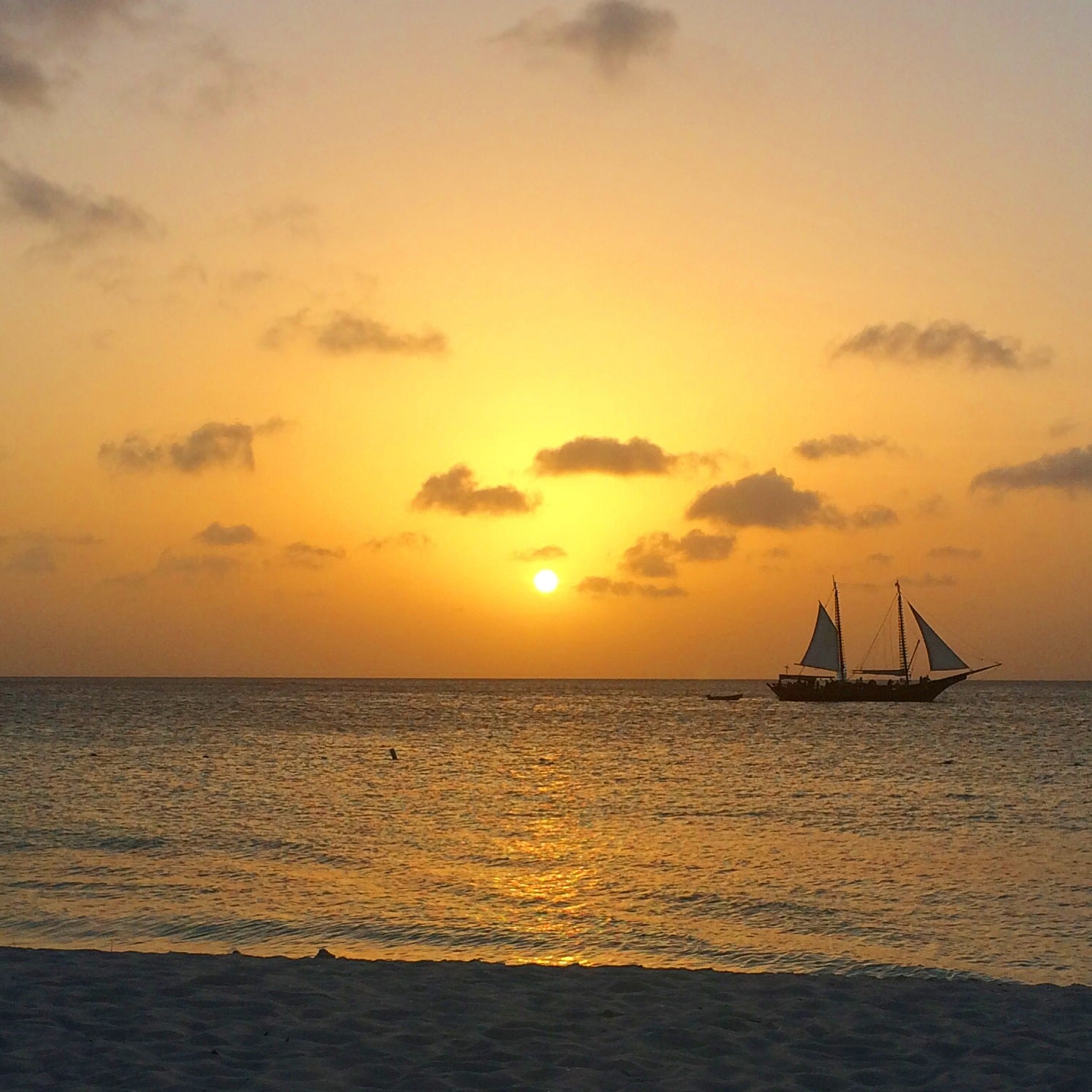 Aruba Sunset by KARMA for a cure