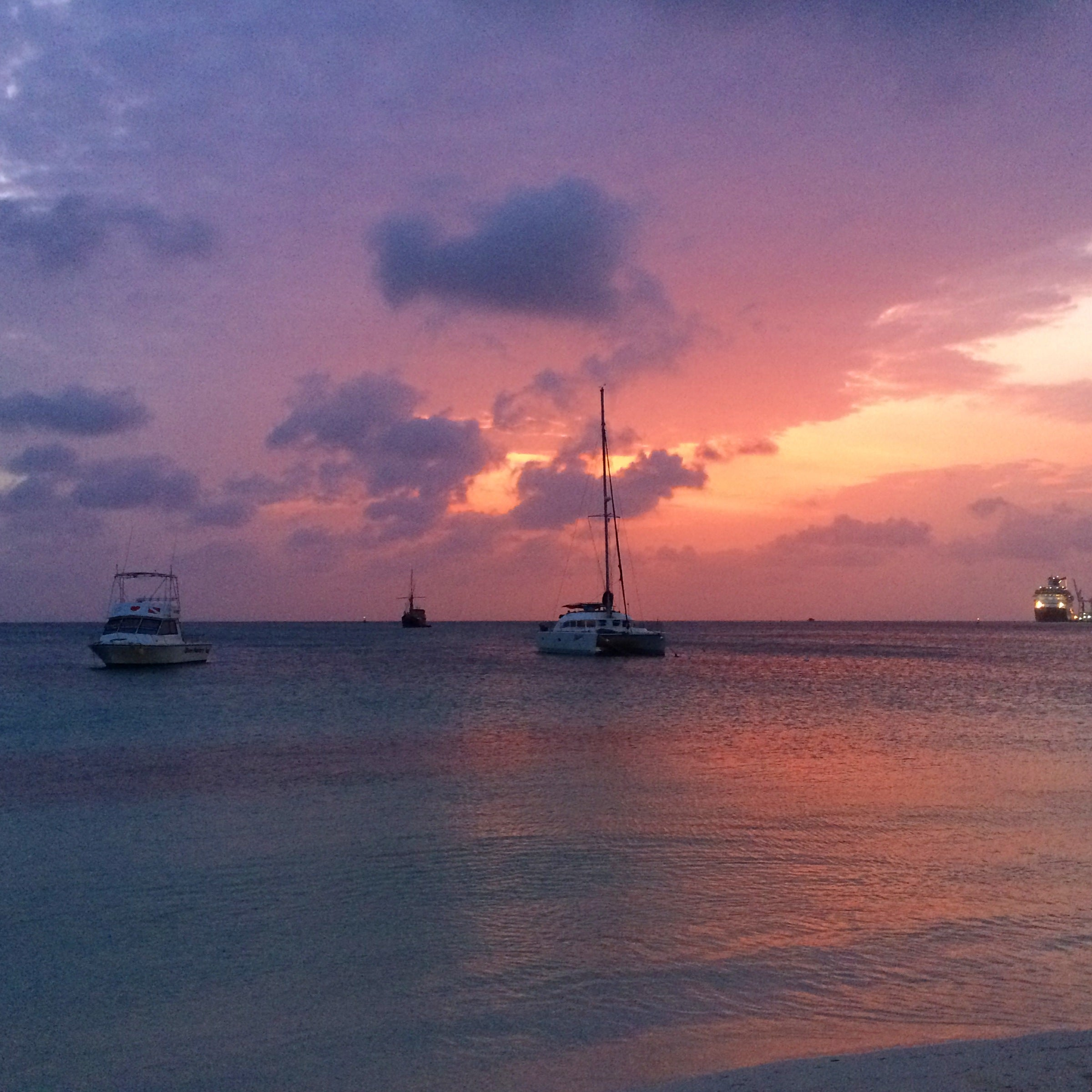 Aruba Sunset by KARMA for a cure Margaux