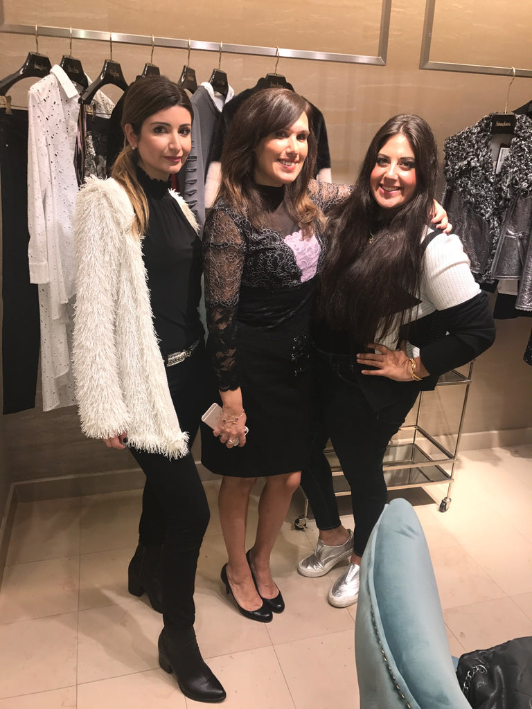 Margaux Minutolo with Dana Prigge and Dara Senders at Neiman Marcus Trendsetter brunch