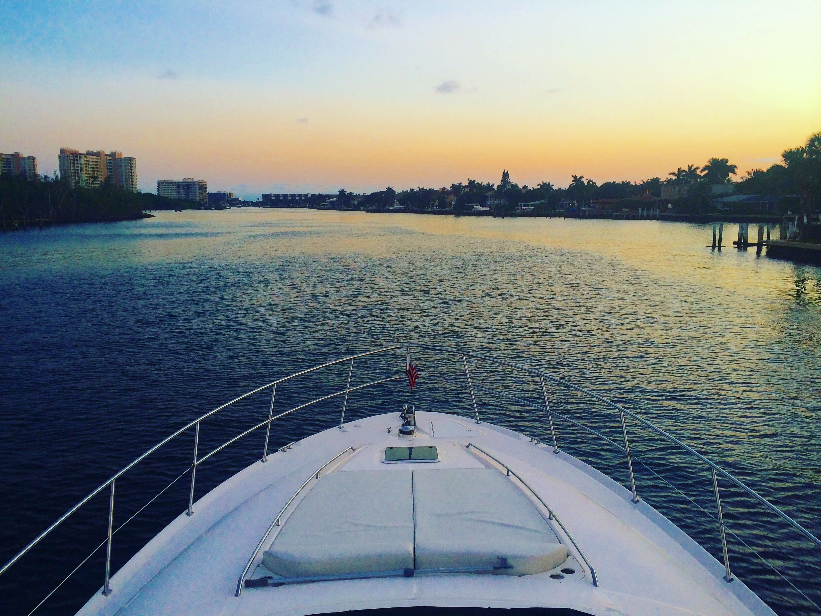 Miami Chasing Sunsets Yacht