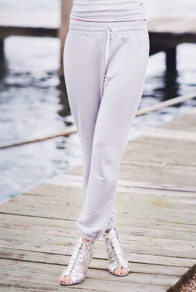 Jet-Set Jogger Pants in French Terry - KARMA for a cure by Margaux