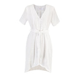 Amalfi Eyelet Button Up Dress