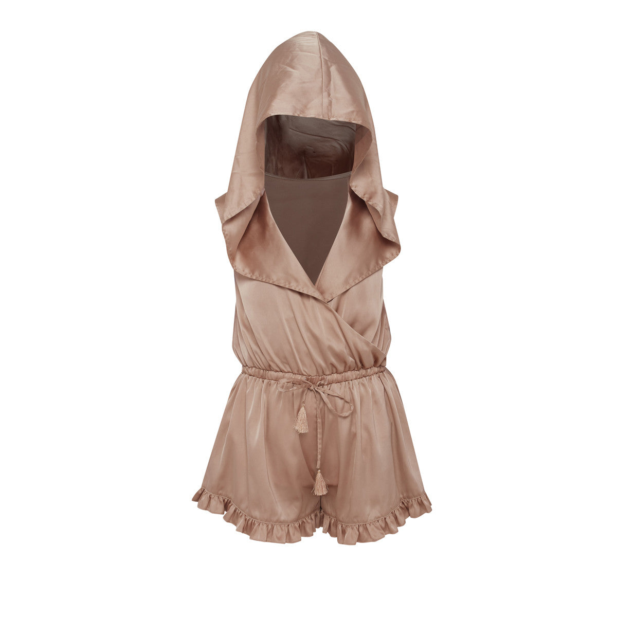 St Tropez Ruffle Romper - KARMA for a cure