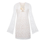 St Tropez Paisley Lace Up Dress - KARMA for a cure - 2