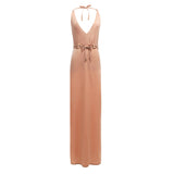 Ibiza Deep V Bohemian Maxi Dress - KARMA for a cure - 2