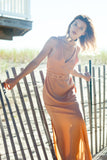 Ibiza Deep V Bohemian Maxi Dress - KARMA for a cure - 1