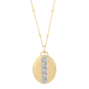 "14K Gold Oval ""Love Locket"""