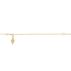 """Claw"" 14K Gold 3 Prong Natural Rose Cut Diamond, Gemstone or Pearl Pendant"