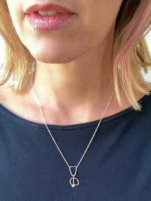 "14K Gold or Sterling ""Everyday Hero"" Necklace"