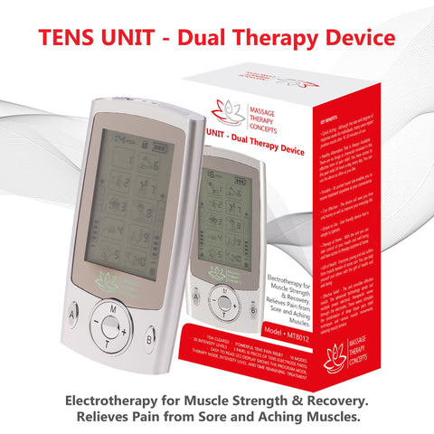 Image of TENS Unit, Pain Relief, EMS Machine, E Stim, electric stimulation device