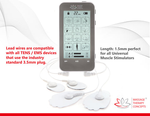 Image of Verve TENS Unit + 20 pc. Electrode Pads Combo Set