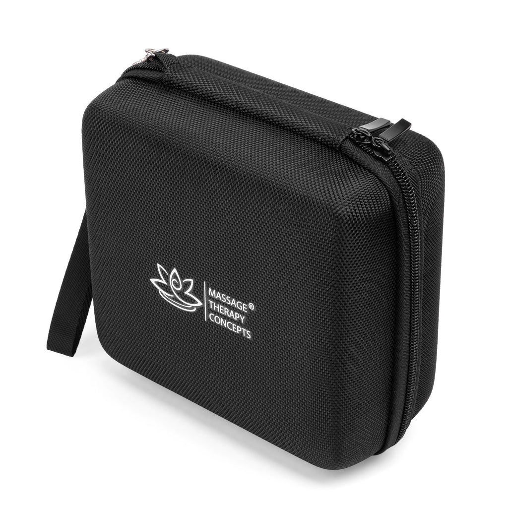 Universal Hard Travel Case Organizer for TENS and EMS Units, Chargers and Cords, Accessories or Medication