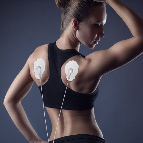 electrode pads, TENS Unit, e stim pads, EMS, electrotherapy, electric therapy, Ems muscle