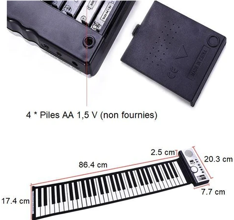 Screenshot 1 147792af 08ee 4faa 89bf Clavier Piano Electronique Portable