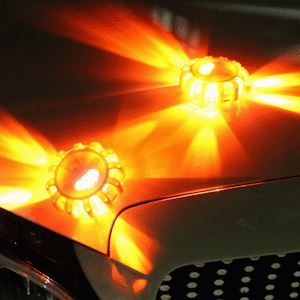 Feux Clignotants LED Flash Ventes Orange 15 led