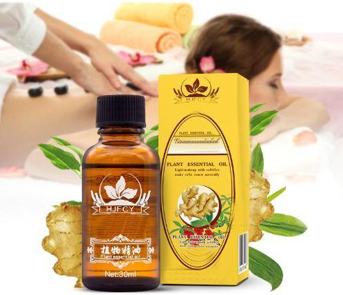 Factory Lymphatic Therapy Drainage Ginger Oil for shipping drop natural oil Anti-Perspirant body care 2018 new arrval Raton Malin