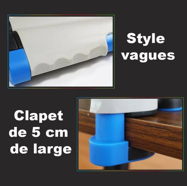 Filet De Tennis De Table Extensible Raton Malin Noir