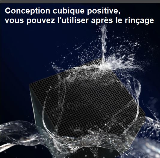Cube Purificateur d'Eau Eco-Aquarium Raton Malin