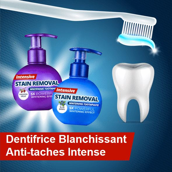 Dentifrice Blanchissant Anti-taches Intense Raton Malin Myrtille