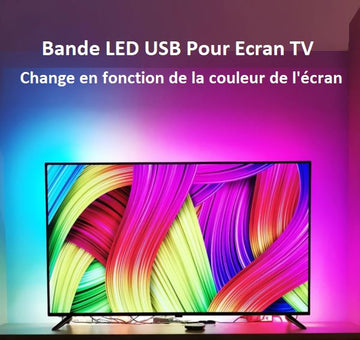 Bande LED USB Pour Ecran TV Flash Ventes