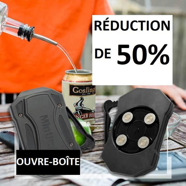 Ouvre-Boîte - Ouvre-Canette Portable Raton Malin