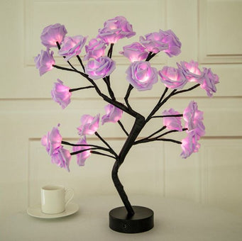 Lampe Fleurs De Rose Flash Ventes Rose